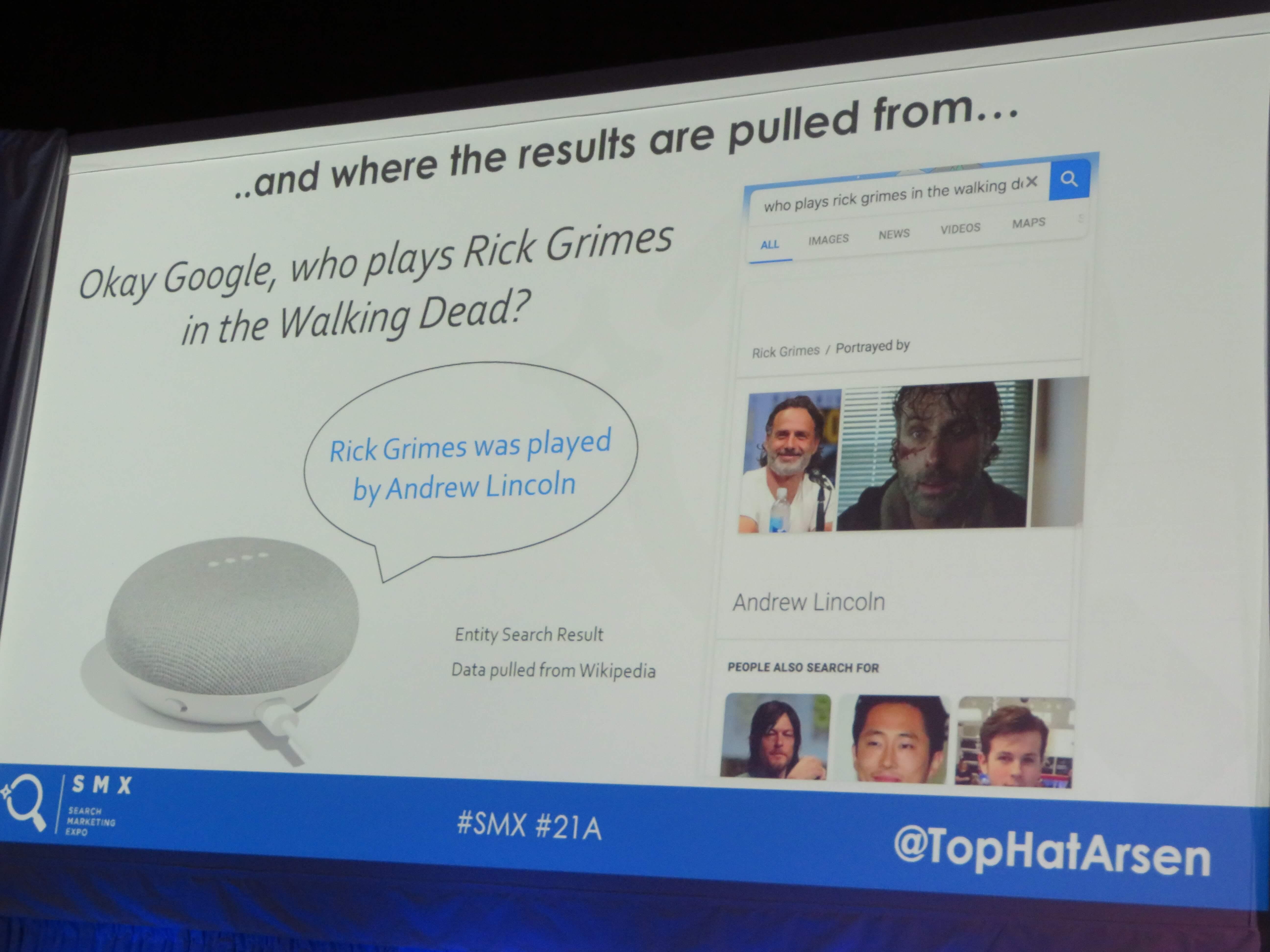 OK Google、ウォーキングデッドでリックグリムスを演じていたのは誰?