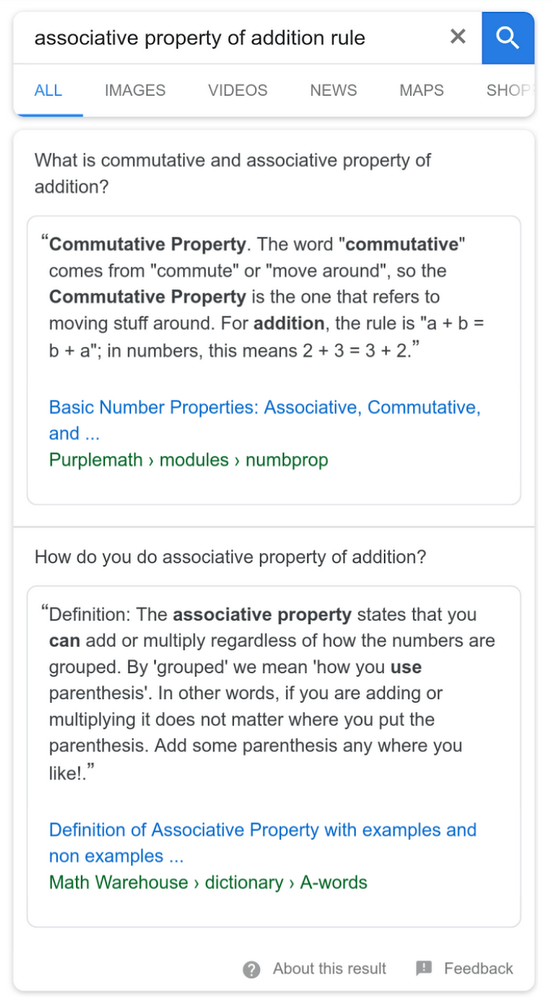 featured-snippet-multi-faceted