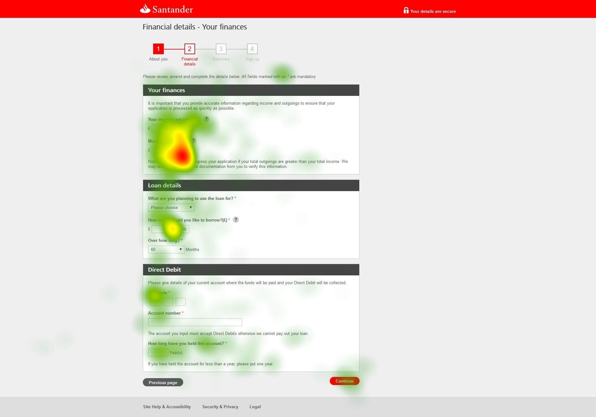 フォームの最適化と設計において、アイトラッキングのデータが我々に伝えてくれること