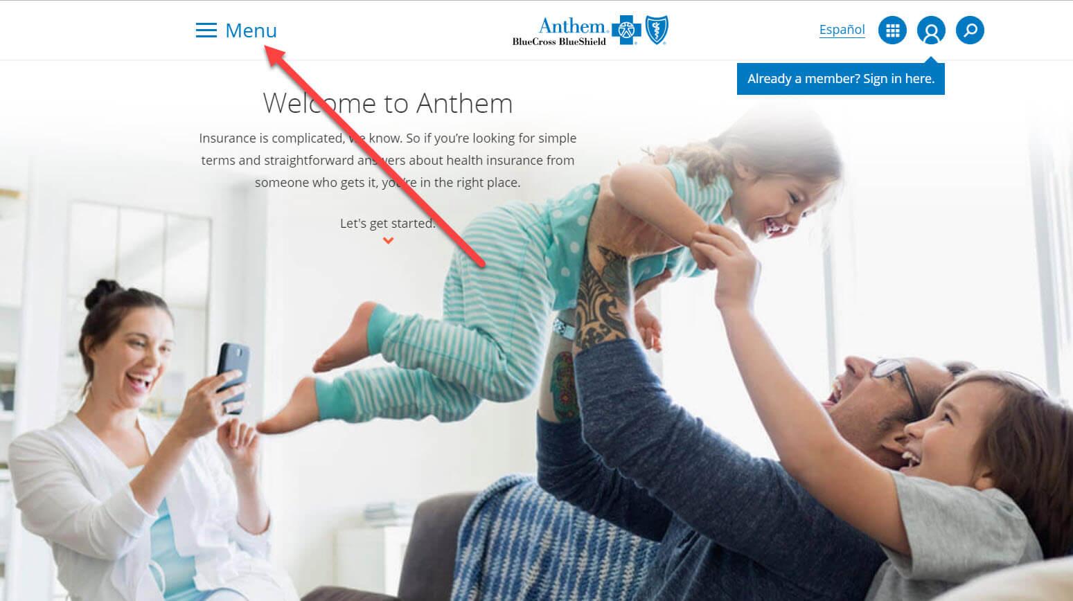 Anthemホームページ