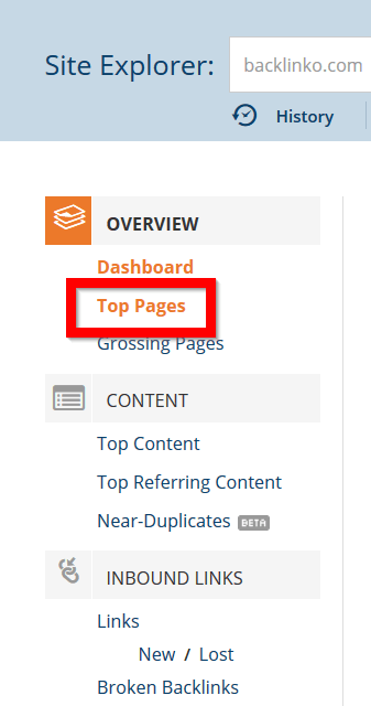 top-pages